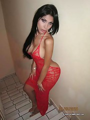 Latinas showing their tits and asses