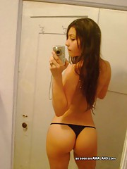 Latina hotties with juicy asses wearing thongs