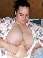 Massive BBW GF shows off her monster jugs