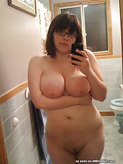 Collection of hot and horny BBWs naked