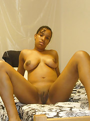 Ebony nudes nude in the bedroom