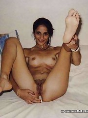 Picture collection of wild horny bitches stuffing their tight buttholes