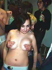 Nice collection of sizzling hot and wild party lesbians