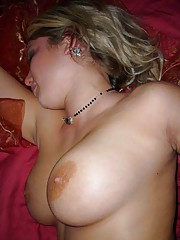 Picture collection of hot and sexy big-tittied babes