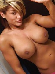 Photo gallery of sexy hot big-tittied girlfriends