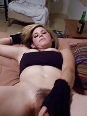 Picture collection of two amateur kinky babes masturbating