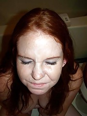 Picture collection of horny cum-drenched amateur chicks