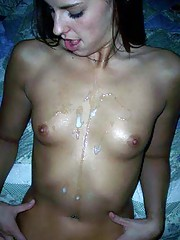 Photo compilation of amateur kinky chicks who like sticky cum