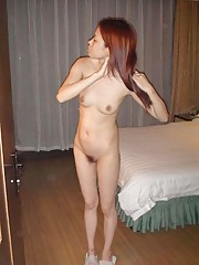 Photo gallery of a kinky petite Asian girlfriend