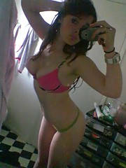 Photo gallery of a sexy amateur Latina teen