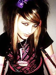 Picture collection of feisty amateur emo bitches