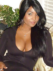 Photo collection of hot and sexy amateur ebony chicks
