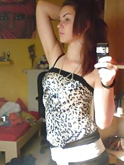 Picture collection of a non-nude amateur cutie