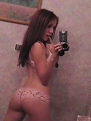 Picture collection of an amateur sexy chick selfshooting