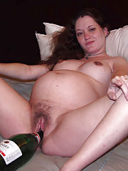 Assorted amateurs pics of gf giving blowjob