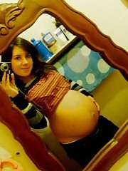 Homemade real pregnant girlfriends nice pics