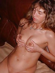 Photo gallery of an amateur sexy sleazy naked hardcore wife