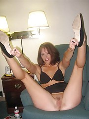 Picture gallery of an amateur sexy wife being a kinky wild tease