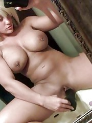 Compilation of hot busty chicks posing for the cam