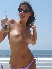 Picture collection of steamy hot amateur heavy-chested chicks
