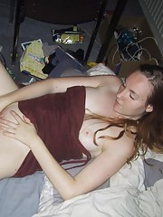 Collection of a hardcore amateur slut stuffing her wet cunt