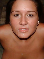 Nice sizzling hot collection of amateur cumshot pics