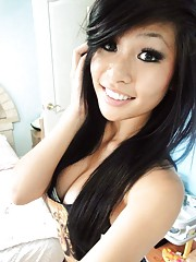 Hot amateur Asians in non-nude sexy self-pics