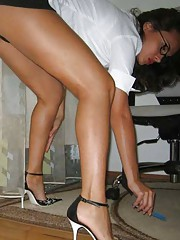 Picture collection of an amateur Spanish hottie in kinky outfits