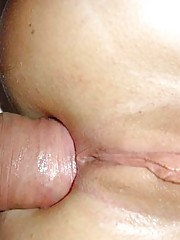 Picture collection of amateur horny hardcore GFs into anal sex