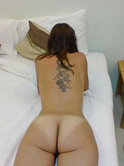 Group of steamy hot amateur sexy inked girlfriends