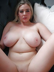 Hot naughty BBWs with nice juggs self-shooting