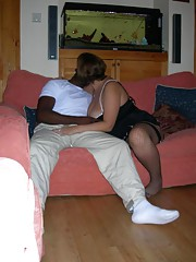 Wild hardcore BBW enjoying a kinky interracial sex