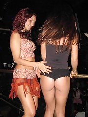 Photo collection of playful party lesbians getting naughty