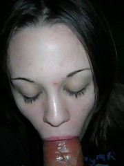Wild amateur honey sucking and fucking a boner