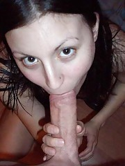 Picture collection of two amateur wild naughty cocksucking bitches