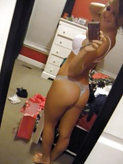 Selection of an amateur hot-ass chick camwhoring