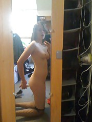 Photo gallery of a sexy amateur naughty babe camwhoring