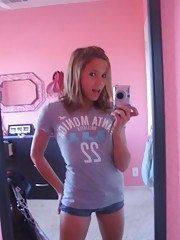 Self-shot pic compilation of naughty amateur teens
